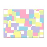Mod Pastel Geometric A4 Sticker 100 Pack