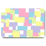 Mod Pastel Geometric Large Door Mat