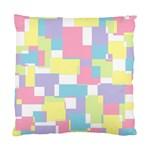 Mod Pastel Geometric Cushion Case (Single Sided)