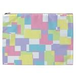 Mod Pastel Geometric Cosmetic Bag (XXL)