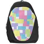 Mod Pastel Geometric Backpack Bag
