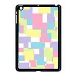 Mod Pastel Geometric Apple iPad Mini Case (Black)
