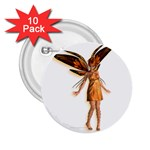 Apricot 2.25  Button (10 pack)