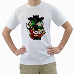 The League Men s T Shirt (white)