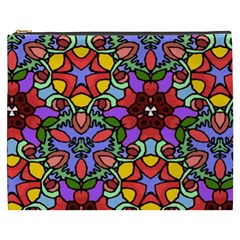 Bright Colors Cosmetic Bag (xxxl) by Rbrendes