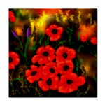 Poppies  2 Ave Hurley Ah 001 164 Png Tile Coaster