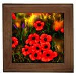 Poppies  2 Ave Hurley Ah 001 164 Png Framed Tile