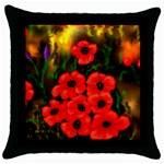 Poppies  2 Ave Hurley Ah 001 164 Png Throw Pillow Case (Black)