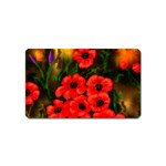 Poppies  2 Ave Hurley Ah 001 164 Png Magnet (Name Card)