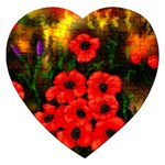 Poppies  2 Ave Hurley Ah 001 164 Png Jigsaw Puzzle (Heart)