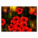 Poppies  2 Ave Hurley Ah 001 164 Png Glasses Cloth (Large, Two Sides)