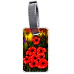 Poppies  2 Ave Hurley Ah 001 164 Png Luggage Tag (two sides)