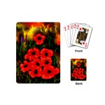 Poppies  2 Ave Hurley Ah 001 164 Png Playing Cards (Mini)