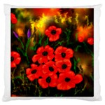 Poppies  2 Ave Hurley Ah 001 164 Png Large Cushion Case (Two Sides)