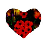 Poppies  2 Ave Hurley Ah 001 164 Png 16  Premium Heart Shape Cushion