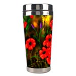 Poppies 2 Ave Hurley Ah 001 164 Png Stainless Steel Travel Tumbler