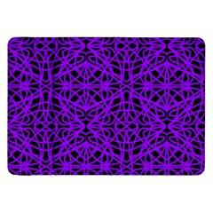 Black And Purple String Art Samsung Galaxy Tab 8 9  P7300 Flip Case by Khoncepts