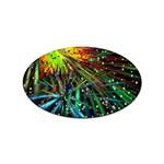 Exploding Fireworks Sticker 10 Pack (Oval)