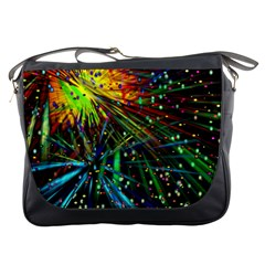 Exploding Fireworks Messenger Bag by StuffOrSomething