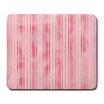 Pink Grunge Large Mouse Pad (Rectangle)