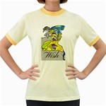 Faerie Wish Women s Ringer T-shirt (Colored)