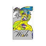 Faerie Wish Sticker 10 Pack (Rectangle)