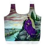 Jesus Overlooking Jerusalem - Ave Hurley of ArtRevu - Full Print Recycle Bag (XL)