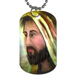 Jesus - Eyes of Compassion - Ave Hurley - Dog Tag (Two Sides)