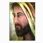 Jesus - Eyes of Compassion - Ave Hurley - Postcard 4  x 6