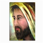 Jesus - Eyes of Compassion - Ave Hurley - Postcard 4 x 6  (Pkg of 10)
