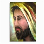 Jesus - Eyes of Compassion - Ave Hurley - Postcard 5  x 7