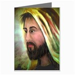 Jesus - Eyes of Compassion - Ave Hurley - Greeting Card