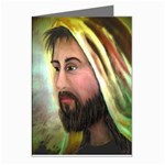Jesus - Eyes of Compassion - Ave Hurley - Greeting Cards (Pkg of 8)