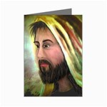 Jesus - Eyes of Compassion - Ave Hurley - Mini Greeting Card