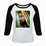 Jesus - Eyes of Compassion - Ave Hurley - Kids Baseball Jersey