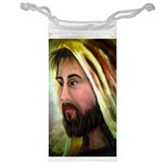Jesus - Eyes of Compassion - Ave Hurley - Jewelry Bag