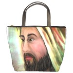 Jesus - Eyes of Compassion - Ave Hurley - Bucket Bag