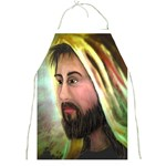 Jesus - Eyes of Compassion - Ave Hurley - Full Print Apron