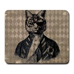 Harlequin Cat Large Mouse Pad (Rectangle)