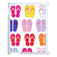 Flip Flop Collage Apple Ipad 2 Case (white) by StuffOrSomething