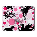 Fantasy In Pink Small Mouse Pad (Rectangle)