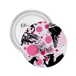 Fantasy In Pink 2.25  Button