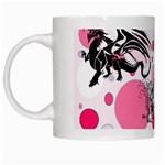Fantasy In Pink White Coffee Mug