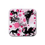 Fantasy In Pink Drink Coaster (Square)