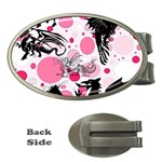 Fantasy In Pink Money Clip (Oval)