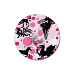 Fantasy In Pink Drink Coasters 4 Pack (Round)