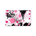 Fantasy In Pink Sticker 100 Pack (Rectangle)