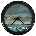 Catalanos -AveHurley ArtRevu.com- Wall Clock (Black)