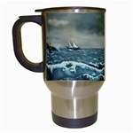 Catalanos -AveHurley ArtRevu.com- Travel Mug (White)