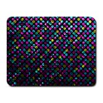 Polka Dot Sparkley Jewels 2 Small Mouse Pad (Rectangle)